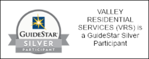Valley Residential Services is a Guidestar Silver Participant