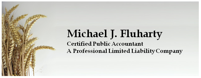 Michael Fluharty logo